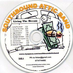 living the dream cd image