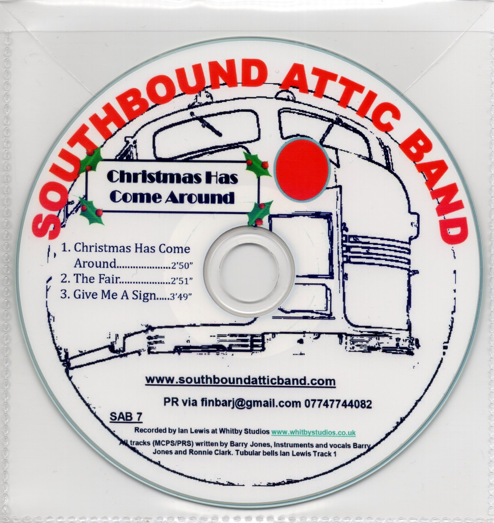 Christmas Has Come Around EP | Southbound Attic Band